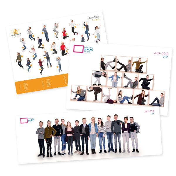 unieke groepsfoto's